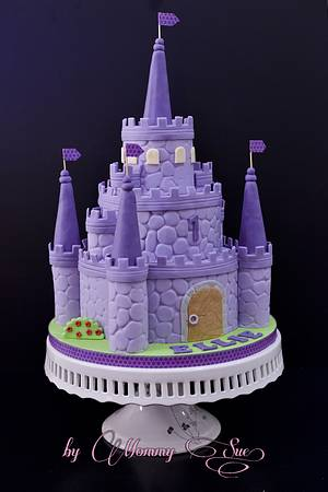 Sofia the First Castle Cake - Cake by Mommy Sue