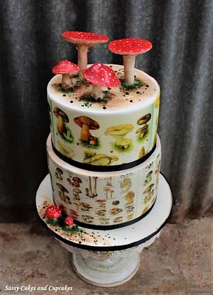 Mushroom Love - Cake by Sassy Cakes and Cupcakes (Anna)