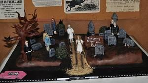 Zombie Birthday Bash - Cake by SimplyIrresistible