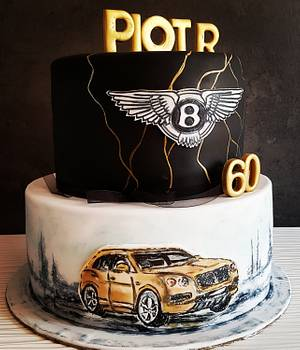 Bentley Cake - Cake by stasia_wegner
