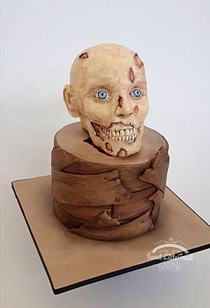Zombie - Cake by Sweet Little Treat