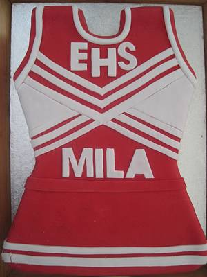 High School Musical Cheerleader Dress - Cake by Misssbond