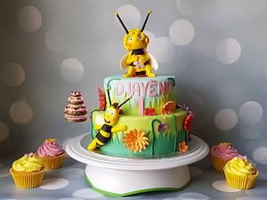 Maya - Cake by Pluympjescake