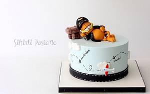Garfield Cake - Cake by Sihirli Pastane
