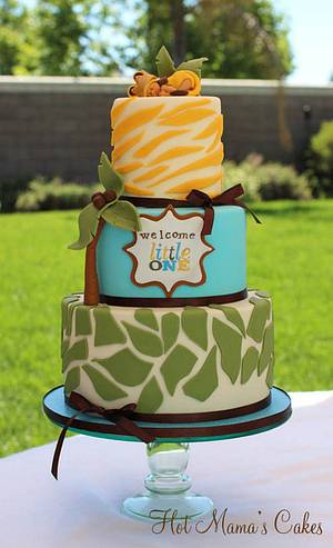 The Lion King Inspired Baby Shower - Cake by Hot Mama's Cakes
