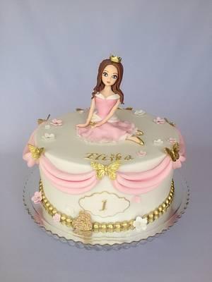 Princess birthday cake - Cake by Layla A