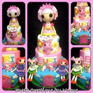 Lalaloopsy Themed Cake - Cake by Jo-ann M. Tuazon