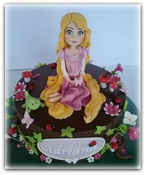 Rapunzel - Cake by Pelegrina