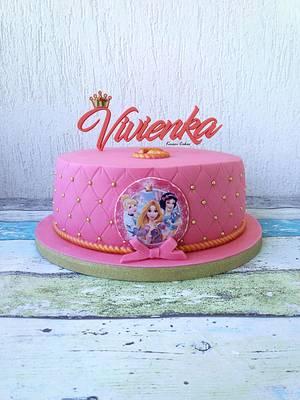 Disney Princess - Cake by Kmeci Cakes