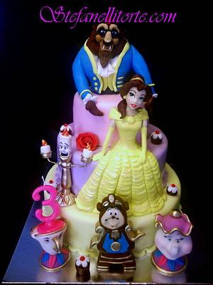 Beauty and the beast cake - Cake by stefanelli torte