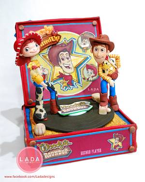 Toy story sugar cake topper - Cake by Ladadesigns