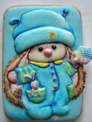 """Cookies """"Bunny it's time to sleep"""" - Cake by Sweet pear"""