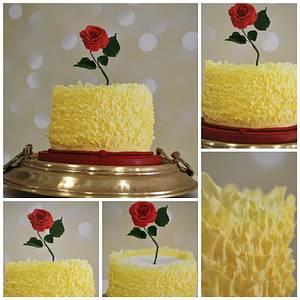BEAUTY & THE BEAST inspired cake - Cake by Ponona Cakes - Elena Ballesteros