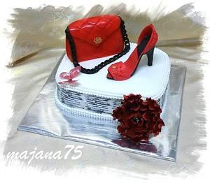 cake for women - Cake by Marianna Jozefikova