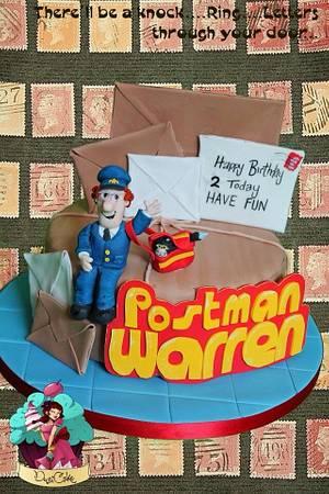 Postman pat x  - Cake by DusiCake