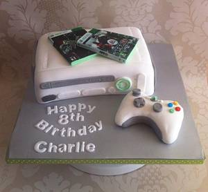 White XBox 360 cake - Cake by Carrie