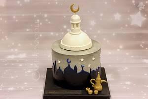 Eid Mubarak - Cake by Nimitha Moideen