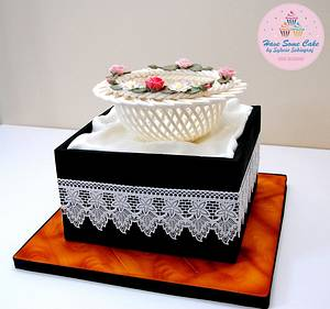 Competition cake - Cake by Sylwia Sobiegraj The Cake Designer