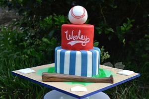 Baseball Cake - Cake by Susan