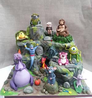 Disney Pixar cake fest, Cake International entry - Cake by Sugarwhizz