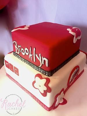 Sweet 16! - Cake by Rachel~Cakes