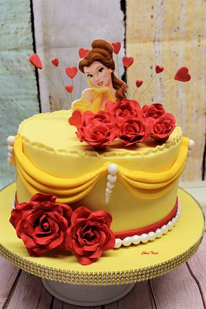 Cake Belle and the Beast - Cake by Chris Toert