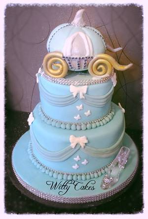 Cinderella cake - Cake by Witty Cakes