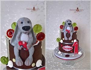 The first birthday ... Patrik - Cake by Tortolandia
