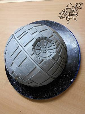Star Wars: Death Star - Cake by Petra Krátká (Petu Cakes)