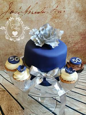 50th birthday cake - Cake by Love it cakes