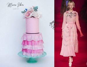 Couture Cakers Collaboration - Cake by Maira Liboa