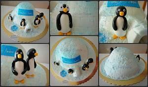 Pingu's Cake - Cake by Sara Batista