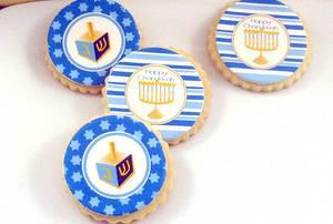 Chanukkah Cookies - Cake by Cheryl