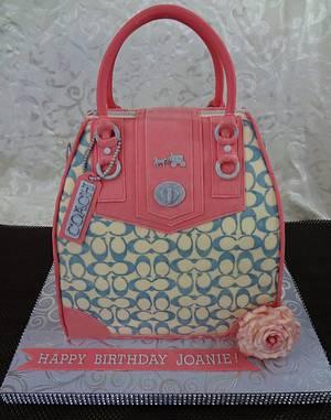 Coach Bag Cake - Cake by Custom Cakes by Ann Marie
