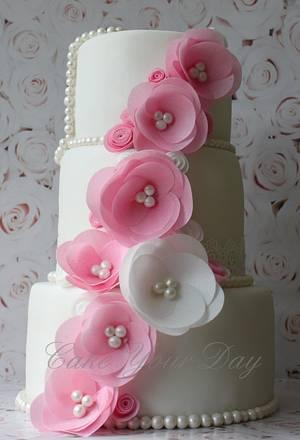 Wedding Cake ''Tamara'' - Cake by Cake Your Day (Susana van Welbergen)