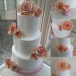 Roses xx - Cake by My Darlin Cakes