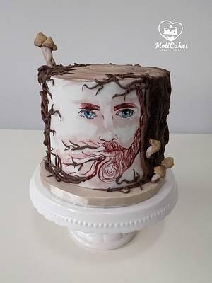 Bearded Lumberjack - Cake by MOLI Cakes