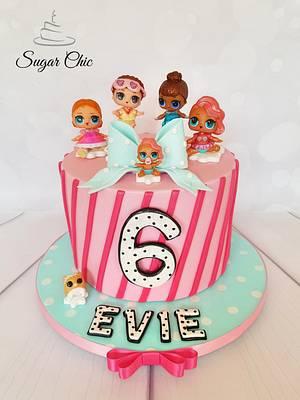 x LOL Surprise Dolls Birthday Cake x - Cake by Sugar Chic