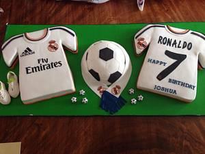 Football Lover Cake - Cake by Caramel Doha