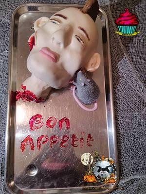 halloween collaboration - Cake by Bakmuts en zo