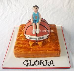 Gloria Is A Team Player - Cake by DeliciousDeliveries