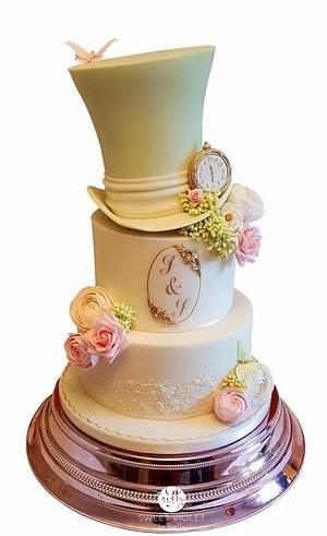 My First Wedding Cake - Cake by Nina