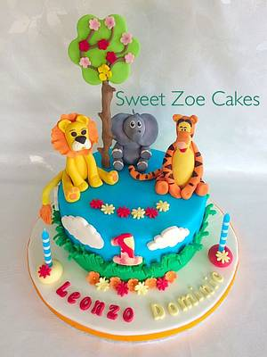 Jungle Cake - Cake by Dimitra Mylona - Sweet Zoe Cakes