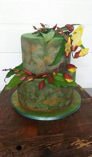 CPC 3BD Collaboration  Birdwing Vine from Queensland. - Cake by Sue's Sweet Delights
