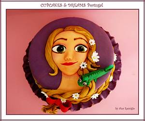 SWEET RAPUNZEL - Cake by Ana Remígio - CUPCAKES & DREAMS Portugal