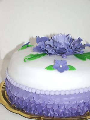 Peony cake - Cake by Le Torte di Mary