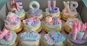 Little Princess cupcakes - Cake by tessatinacakes