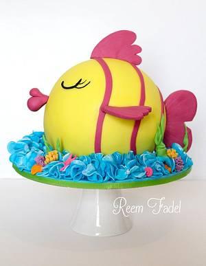 Proud Fish - Cake by ReemFadelCakes