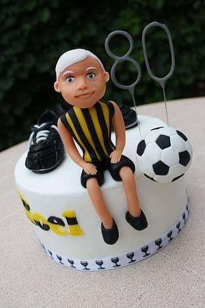 Soccer dad - Cake by Slindt