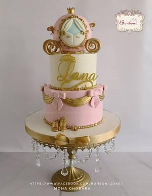 princess carriage - Cake by mona ghobara/Bonboni Cake